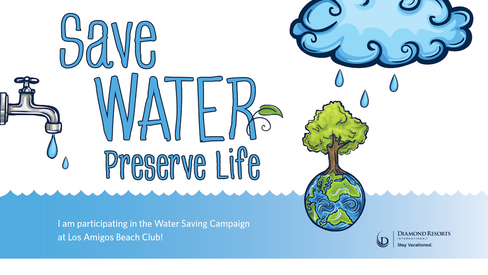 Every drop counts as Diamond Resorts International launches its Water Saving Campaign