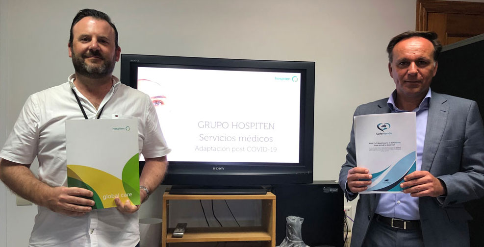CLC World Resorts & Hotels' Health & Safety collaboration with Hospiten, Tenerife
