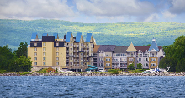 Interval International Recognizes Ontario's Huronic Residences At Living Water Resort & Residences