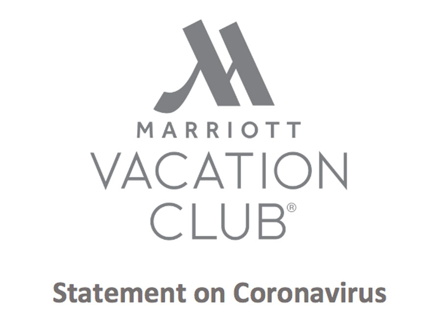 Marriott Vacation Club statement on Coronavirus (COVID-19)