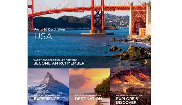 RCI® app redesigned with fresh perspective on searching for vacations
