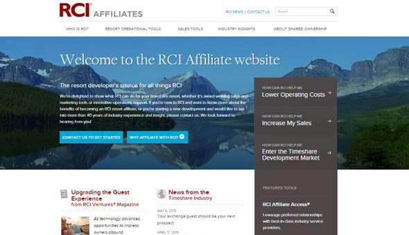 Enhancements to RCIAffiliates.com Brings New Industry Resources to RCI® Business Partners