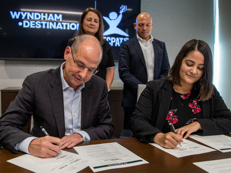 Wyndham Destinations becomes first timeshare company to commit to ECPAT Code to end human trafficking